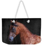 Red Ancient Horse No 01 Weekender Tote Bag