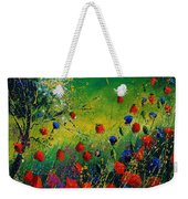 Red And Blue Poppies 67 1524 Weekender Tote Bag