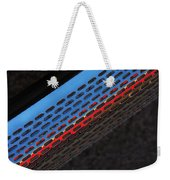 Red And Blue Shine Weekender Tote Bag