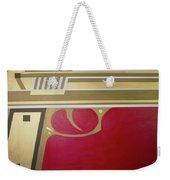Red And Gold Gun  Weekender Tote Bag