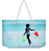 Red And Green Pails Weekender Tote Bag
