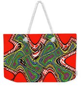 Red And Green Thing Weekender Tote Bag