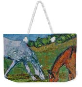 Red And His Mare Weekender Tote Bag