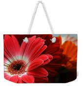 Red And Orange Florals Weekender Tote Bag