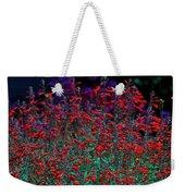 Red And Purple Flowers Weekender Tote Bag