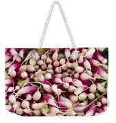 Red And White Radishes Weekender Tote Bag