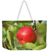 Red Apple On A Tree Weekender Tote Bag