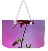 Red Aquilegia 2 Weekender Tote Bag