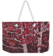 Red Aspen Weekender Tote Bag