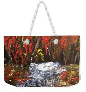 Red Autumn Brilliance Weekender Tote Bag