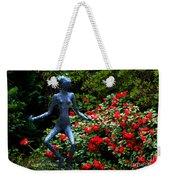 Red Azalea Lady Weekender Tote Bag
