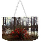 Red Azaleas In The Swamp Weekender Tote Bag