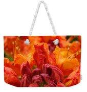 Red Azaleas Orange Azalea Flowers 9 Floral Giclee Art Prints Baslee Troutman Weekender Tote Bag
