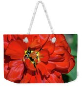 Red Ball Of Fire Weekender Tote Bag