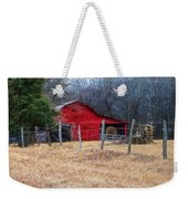 Red Barn A Long The Way Weekender Tote Bag
