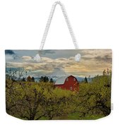 Red Barn At Pear Orchard Weekender Tote Bag