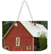 Red Barn Montana Weekender Tote Bag