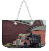 Red Barn Red Truck Weekender Tote Bag