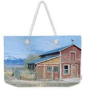 Red Barn, Route 50, Nevada Weekender Tote Bag