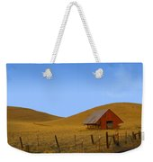 Red Barn Summer Weekender Tote Bag