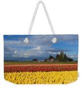 Red Barn Tulip Farm Weekender Tote Bag
