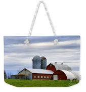 Red Barns Of 3 Weekender Tote Bag