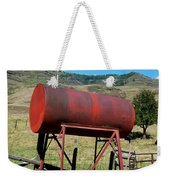 Red Barrel Weekender Tote Bag