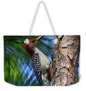 Red-bellied Woodpecker Weekender Tote Bag