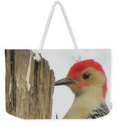 Red-bellied Woodpecker II Weekender Tote Bag