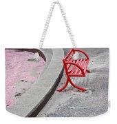Red Bench Weekender Tote Bag