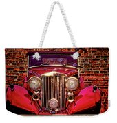 Red Bentley Convertible Weekender Tote Bag