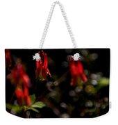 Red Blaze Weekender Tote Bag