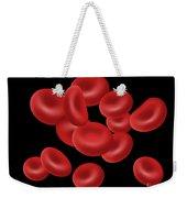 Red Blood Cells, Illustration Weekender Tote Bag