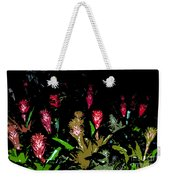 Red Blooms Weekender Tote Bag