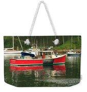 Red Boat Weekender Tote Bag