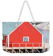 Red Boathouse Weekender Tote Bag