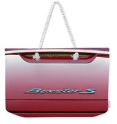 Red Boxster S Weekender Tote Bag