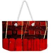 Red Brick And Sticks Weekender Tote Bag