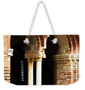 Red Brick Archway Soft Weekender Tote Bag