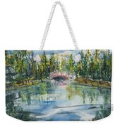 Red Bridge On Lake In The Ozarks Weekender Tote Bag