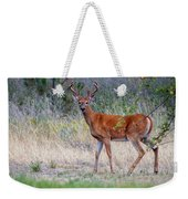 Red Bucks 1 Weekender Tote Bag by Antonio Romero