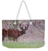 Red Bucks 2 Weekender Tote Bag by Antonio Romero