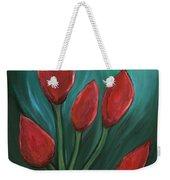 Red Buds Weekender Tote Bag