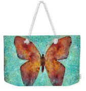Red Butterfly Weekender Tote Bag