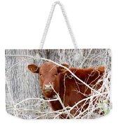 Red Calf  Hideaway Weekender Tote Bag