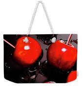 Red Candy Apples Or Apple Taffy Weekender Tote Bag