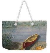 Red Canoe 3  Weekender Tote Bag