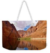 Red Canyon Reflections Weekender Tote Bag