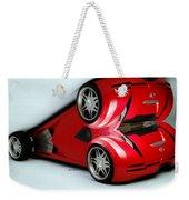 Red Car 007 Weekender Tote Bag