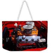 Red Car Engine  Weekender Tote Bag